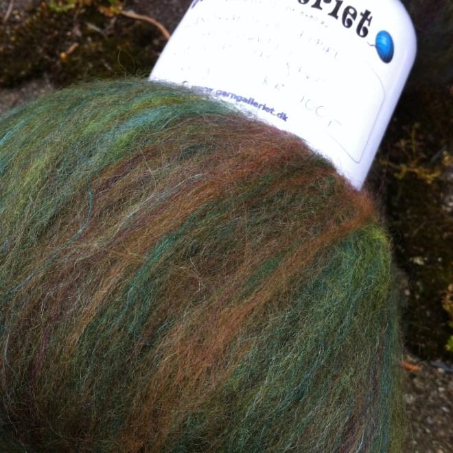 Tweed-grønt art-batt! :-)