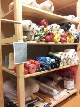 Yarn selection.