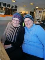 Göta and Mum.