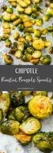 Chipotle Roasted Brussels Sprouts