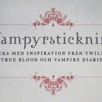 Vampyrstickning