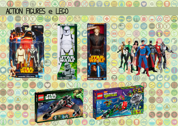 Dicas Presentes Nerds - Action Figures e Lego