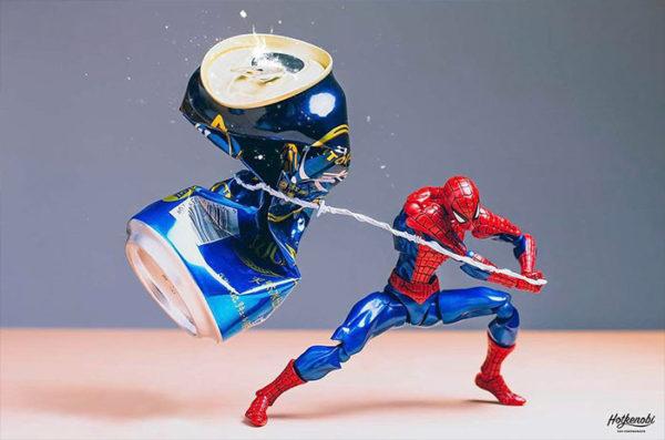 Fotógrafo japonês utiliza action figures para criar série de imagens divertidas