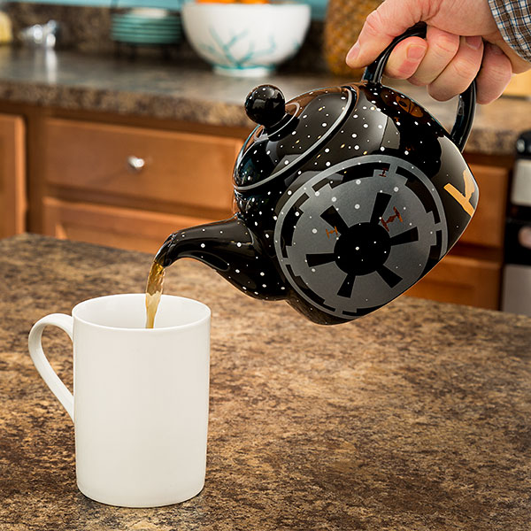 Bule de Star Wars para a sua tarde chá