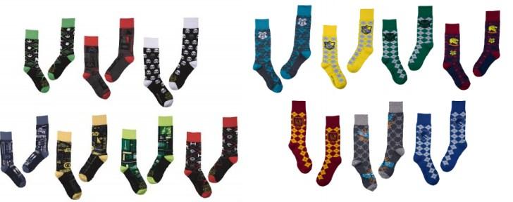 d71460a8d Lupo lança coleção de meias Harry Potter e Star Wars