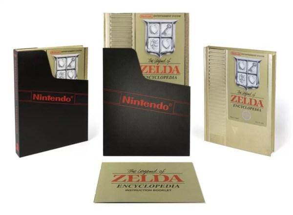 The Legend of Zelda: Nova enciclopédia traz linda embalagem!