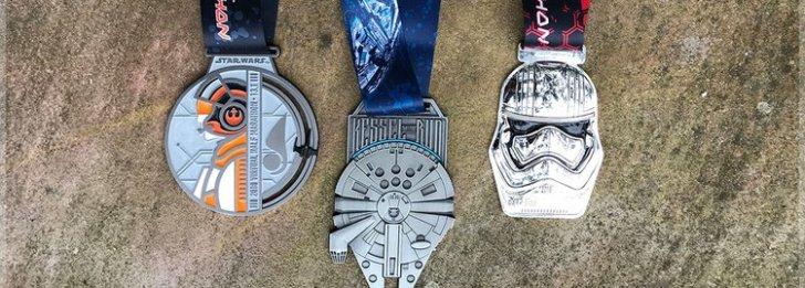 Star Wars: runDisney revela medalhas para evento em abril