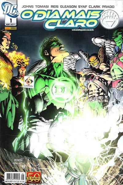 capa lanterna verde o dia mais claro