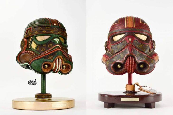 Star Wars: Esculturas feitas com peças da Louis Vuitton