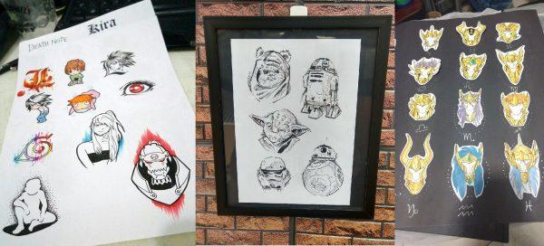 Tattooine: flash weekend de tatuagens nerds no RJ