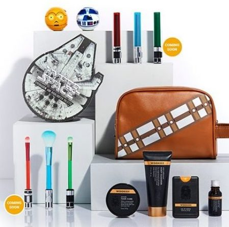 maquiagem star wars hot topic