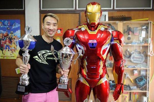 Conheça a armadura do Homem de Ferro Mk criada em tamanho real