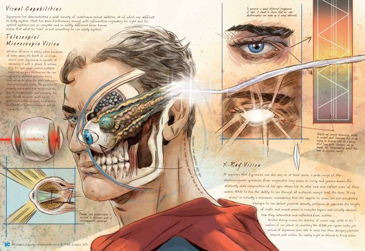 Conheça o livro de estudos da anatomia dos heróis e vilões da DC Comics