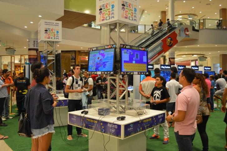 Shoppings de Fortaleza recebem Museu do Videogame Itinerante