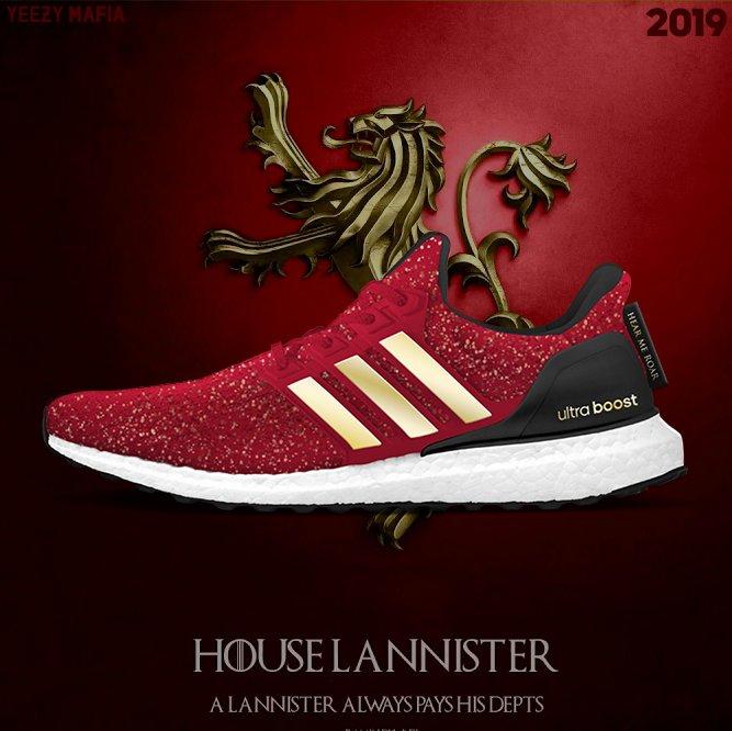 Game Of Thrones: Adidas anuncia coleção de tênis inspirada na série
