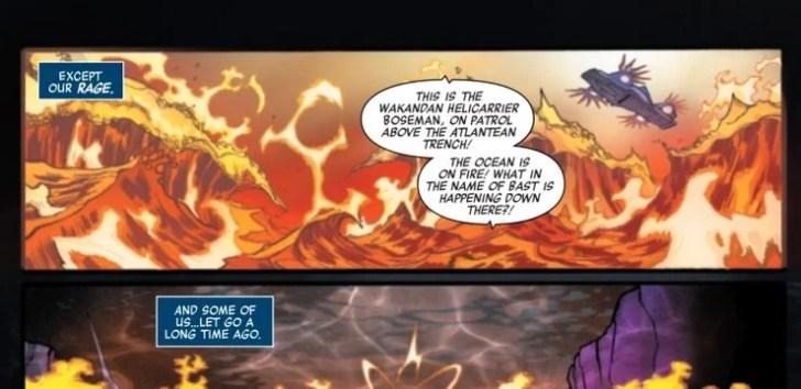 Os Vingadores prestam homenagem a Chadwick Boseman em nova HQ