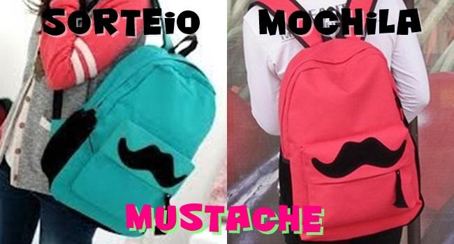 mochila bigode mustache