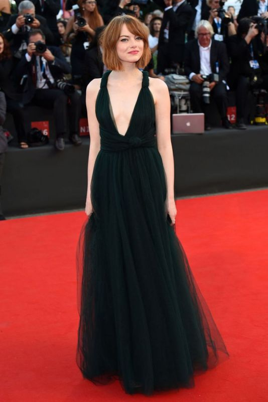dress black emma stone_vestido_preto