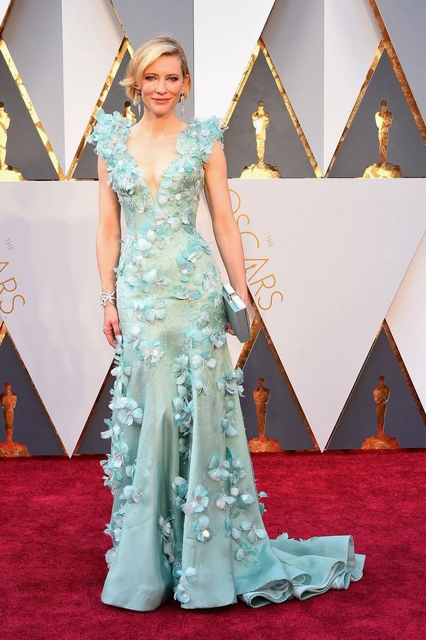 Cate Blanchett veste Armani Priv