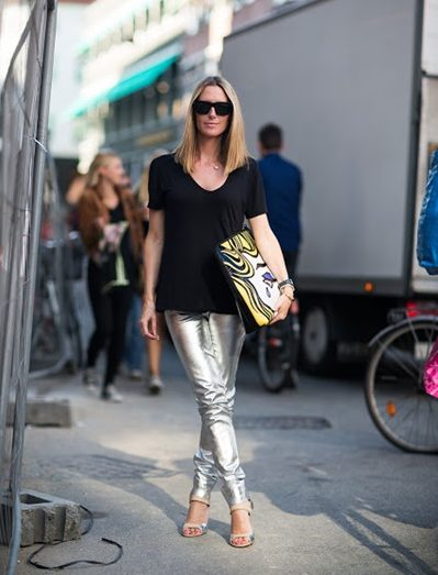 Pants-Silver-Black-T-shirt