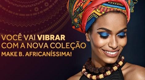 O Boticário lança nova coleção de Make B. inspirada na exuberância da África