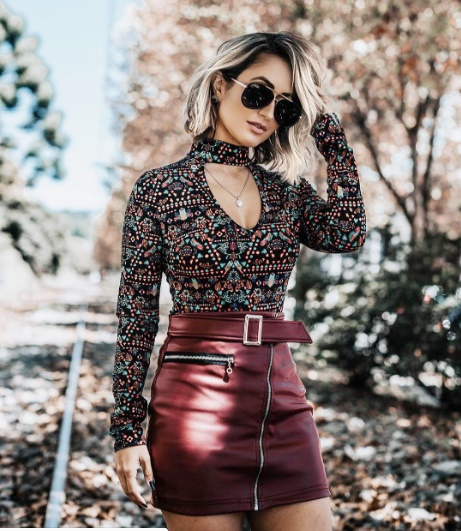 Blogueira Micheli Fernandes