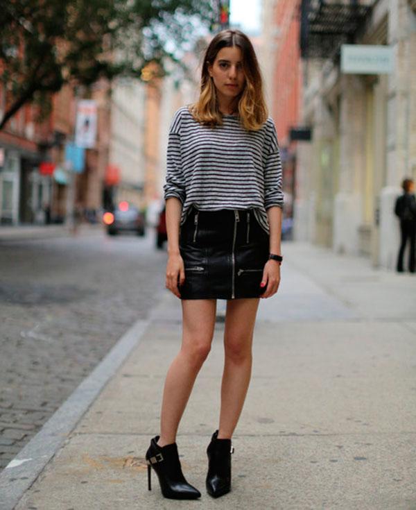 street-style-sarah-nait-saia-couro-ziper-blusa-