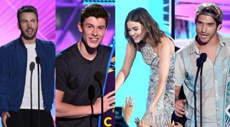 Teen Choice Awards divulga primeira lista  de indicados à edição 2017