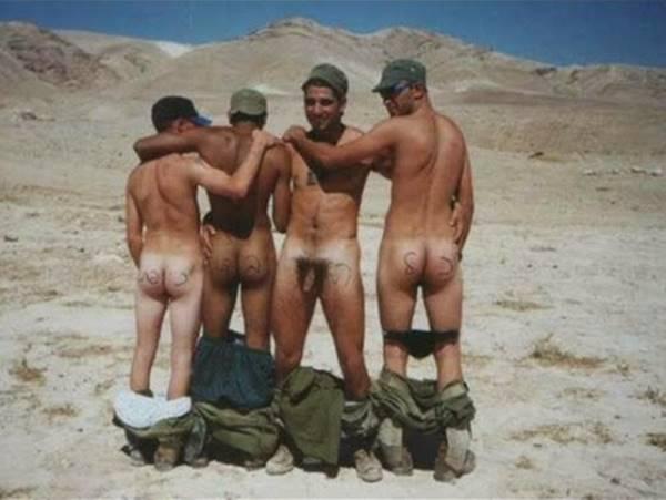 Militares pelados