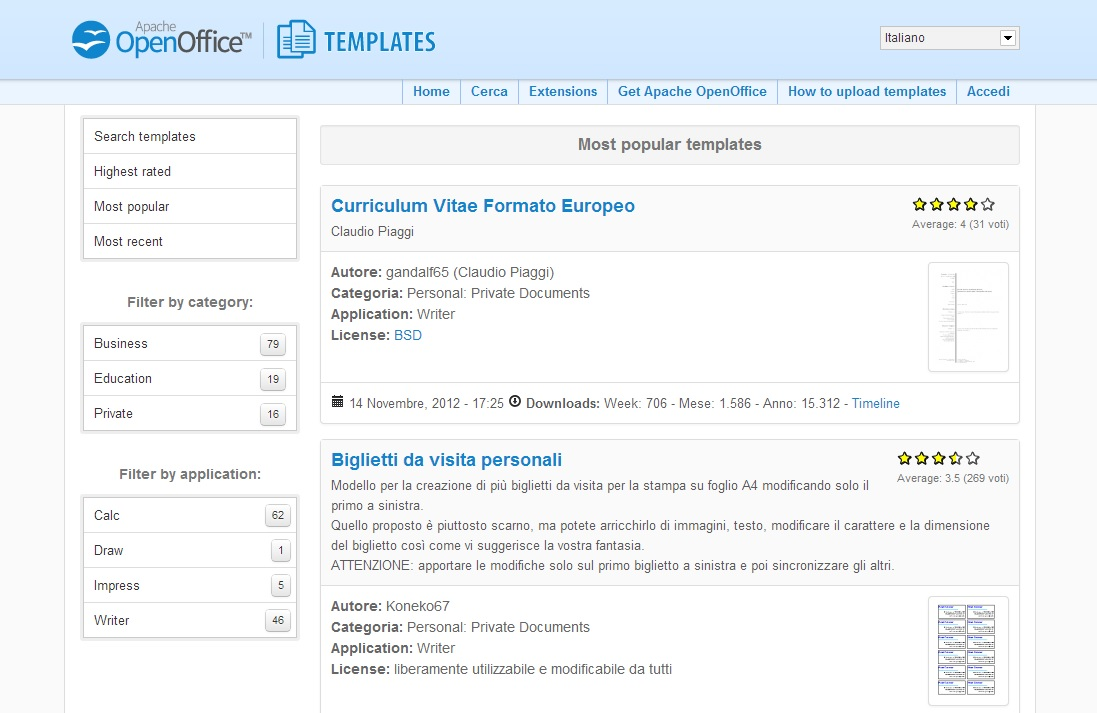 Openoffice Org Templates Booklet Template Apache