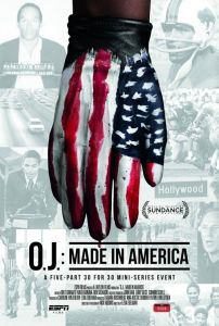 O.J Made in America poster