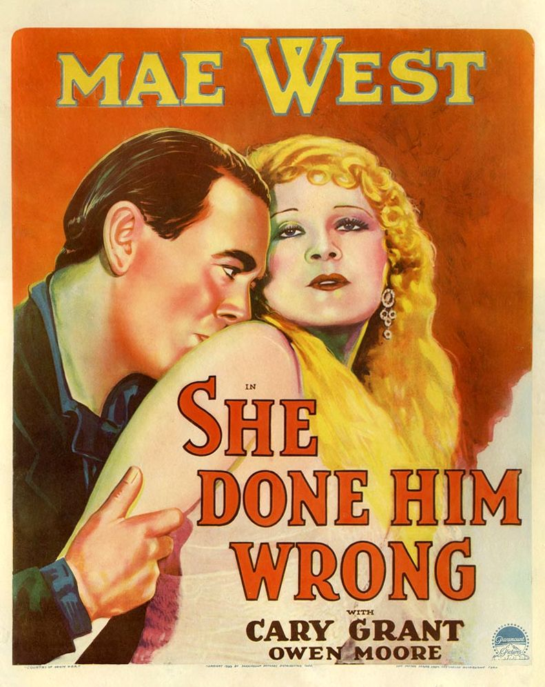 She Done Him Wrong poster
