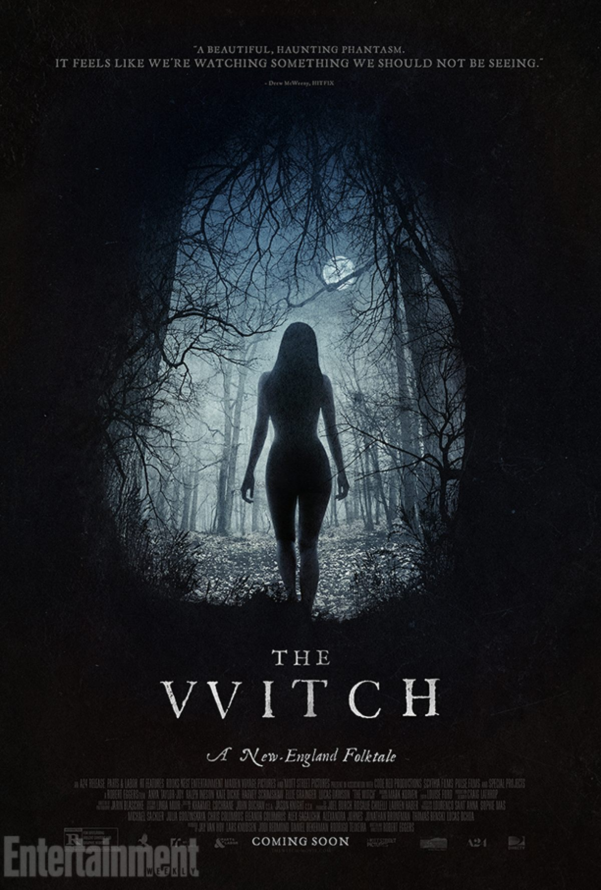 czarownica the witch poster