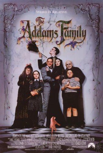 rodzina addamsów plakat
