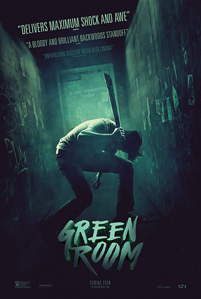 sala strachu green room