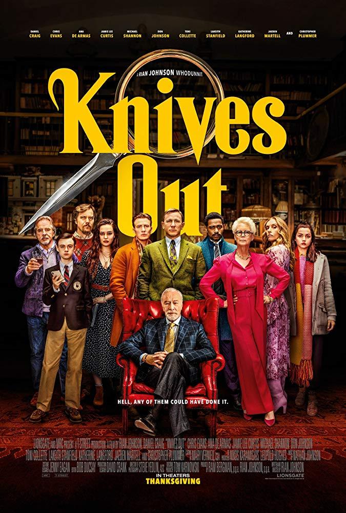 knives out na noze 2019