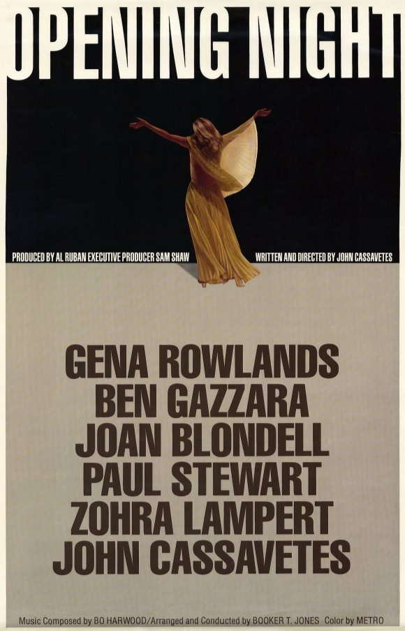 John Cassavetes premiera 1977 opening night