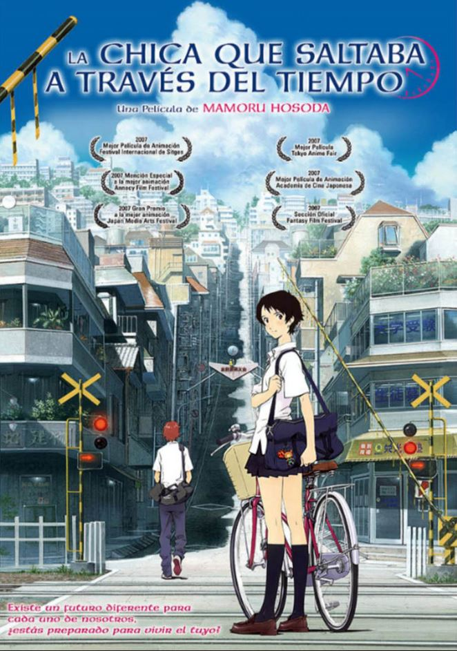 The Girl Who Leapt Through Time o dziewczynie skaczacej 2006