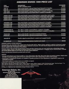 Emerson 1999 Catalog 8