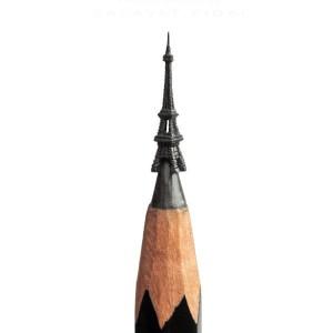 Eiffel Tower pencil