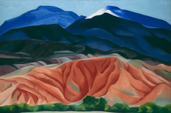 O'Keeffe's Brushstrokes of Courage