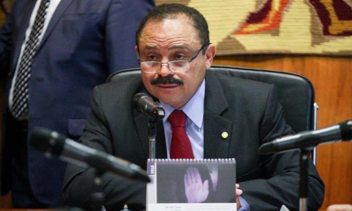O presidente interino da Câmara dos Deputados, Waldir Maranhão (PP-MA) - Andre Coelho / Agência O Globo