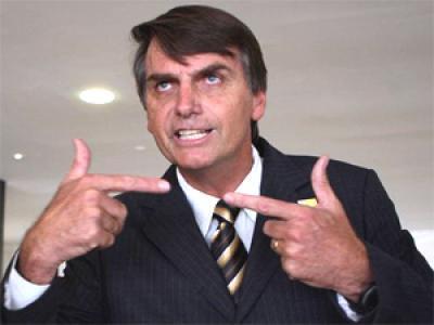O deputado Jair Bolsonaro: incitação ao estupro