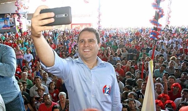 Edivaldo caminha ara vencer eleições no primeiro turno