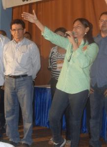O ex-prefeito de Balsas Chico Coelho e Roseana Sarney: aliança política às custas do erário