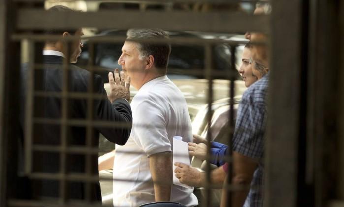 O ex-governador Anthony Garotinho foi preso na Operação Chequinho, que investiga compra de votos em Campos, norte fluminense - Márcia Foletto 16/11/2016 / Agência O Globo