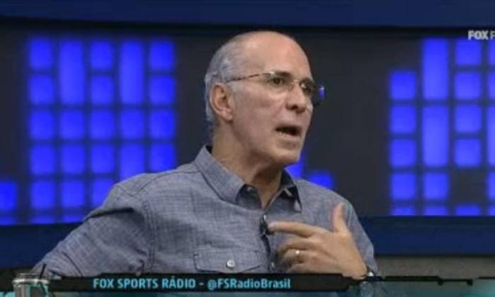 O ex-jogador Mário Sérgio: marcou época no futebol brasileiro