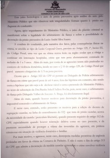 lucio genesio 2 - COVARDIA: Irmão do prefeito de Pinheiro, quase mata a ex-mulher com uma surra - minuto barra