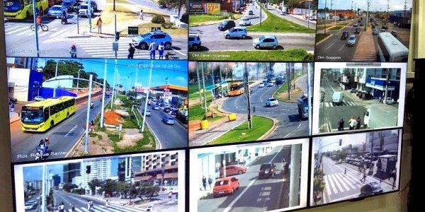 Videomonitoramento é mais uma ação da Prefeitura para garantir segurança no trânsito