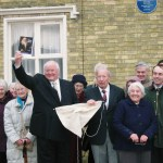 Garrow Plaque Photocall